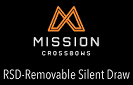 Mission Crossbows RSD™ - Removable Silent Draw Crank System
