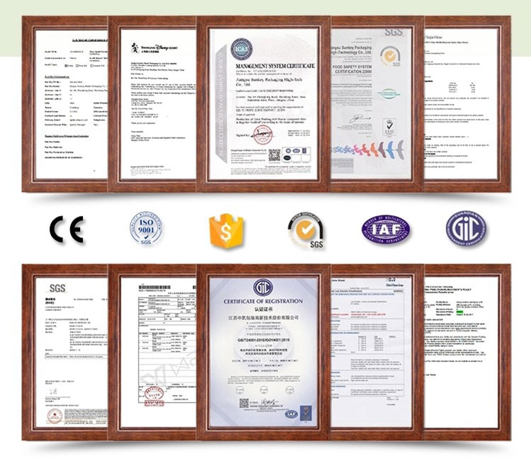 ISO9000, ISO14000, SGS , ROHS
