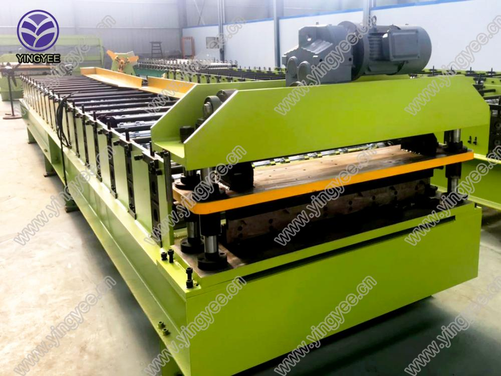 30m/min high speed roof roll forming machine 01