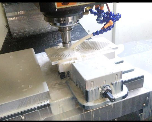 High Speed Aluminum Milling