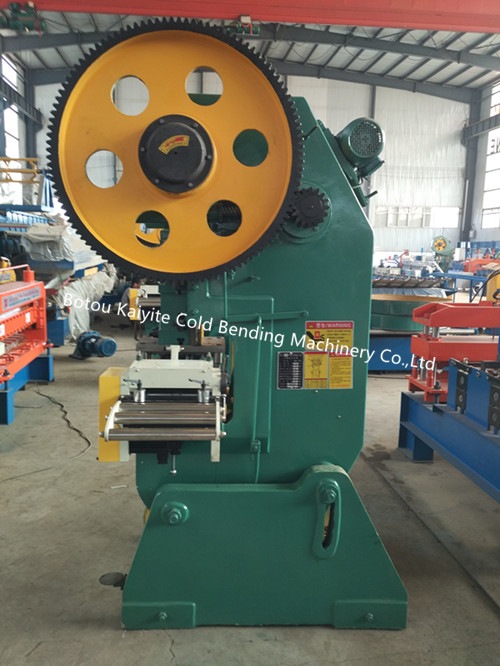 Steel Hole Punching Machine