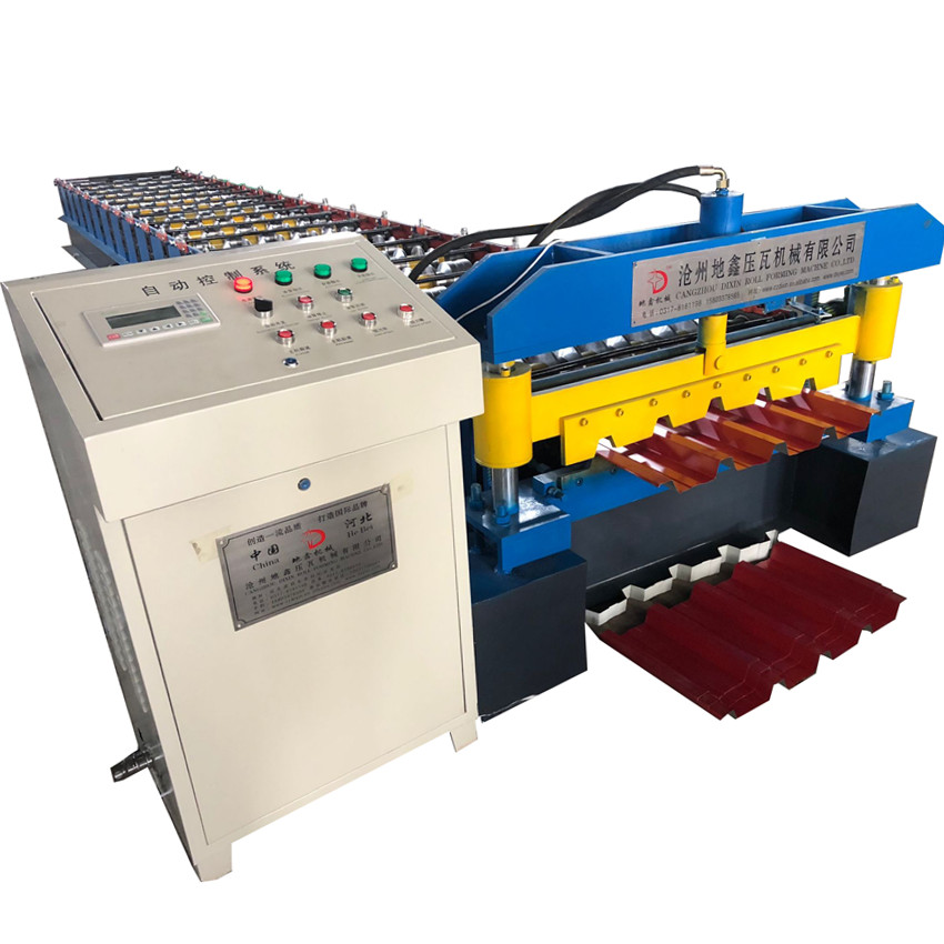 686 Hydraulic single layer IBR sheet profile roll forming machine