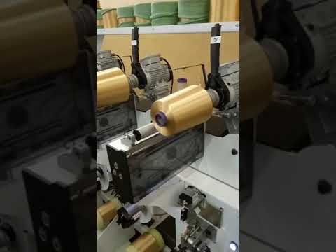 Winding machine in textile