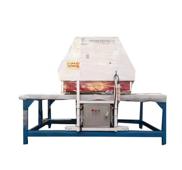 Fully hydraulic ceramic mosaic flattening machine