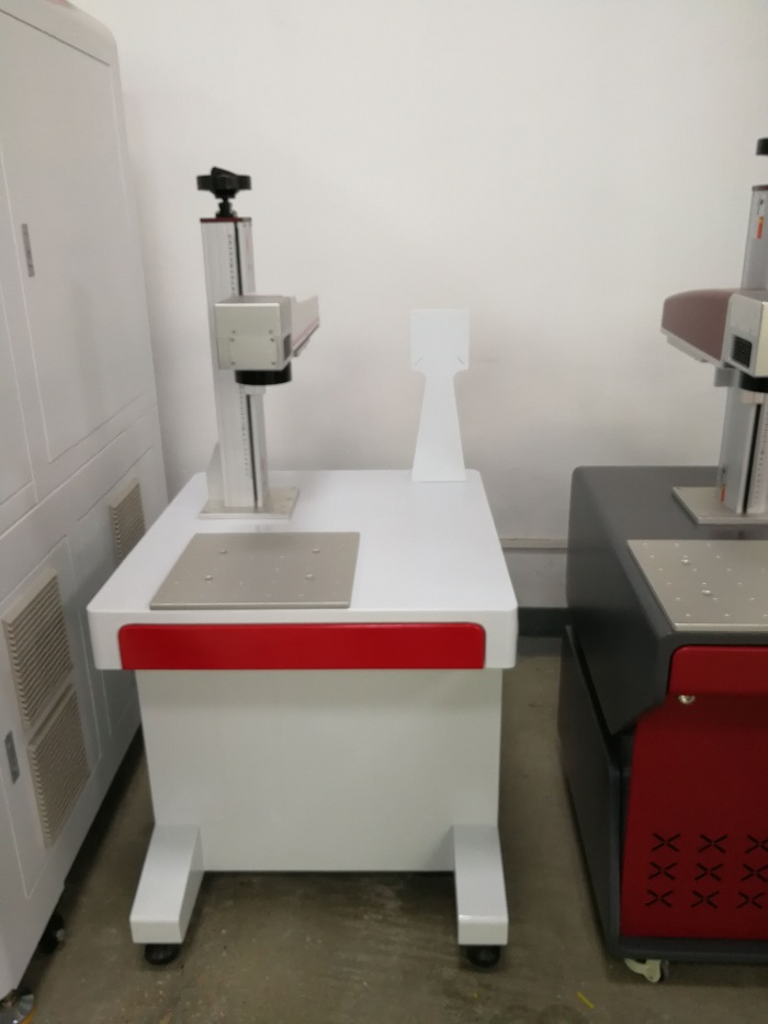 Fiber laser marking machine for egg