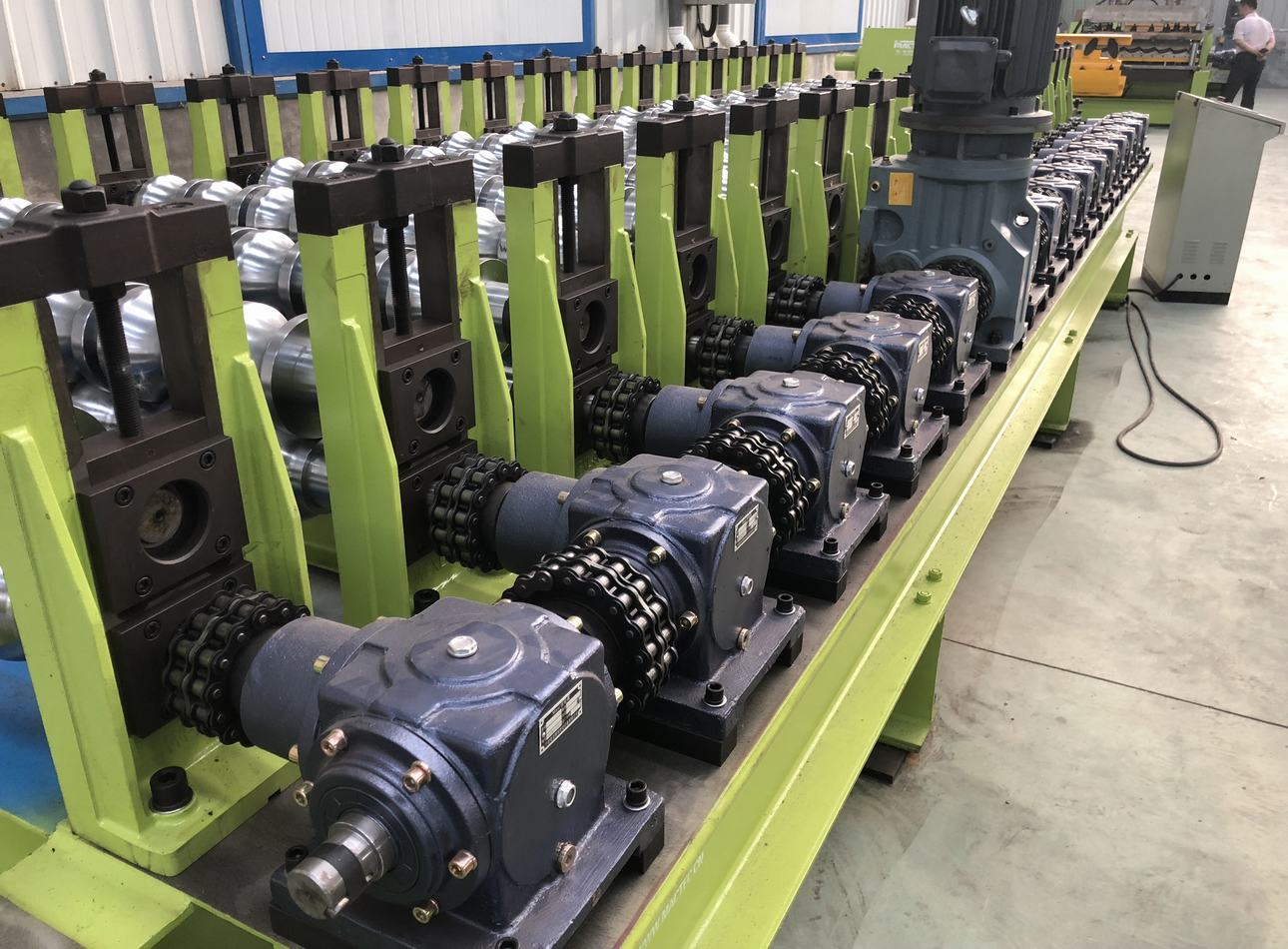 high speed glazed roll forming machine