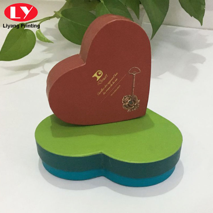 Cardboard Gift Chocolate Packaging Paper Heart Box