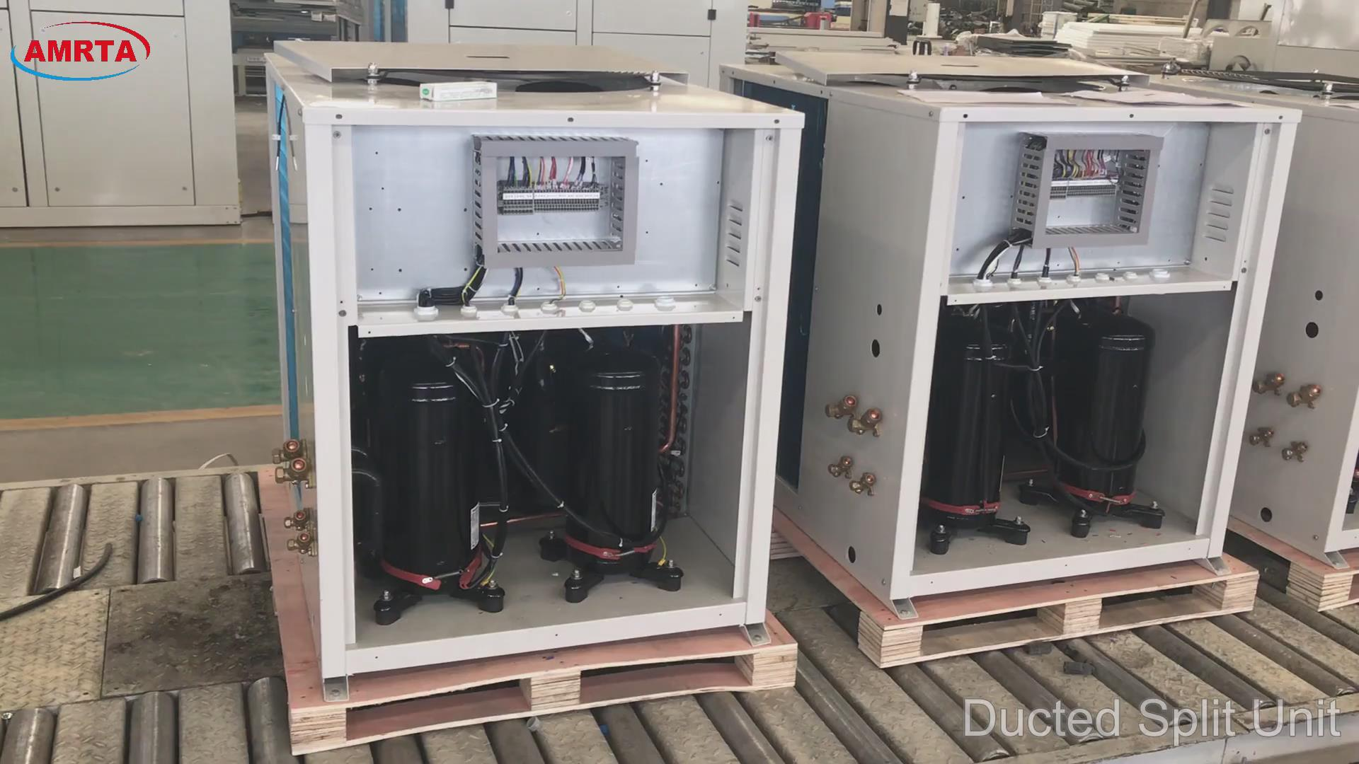 Ducted Split Air Conditioner for Office Building
