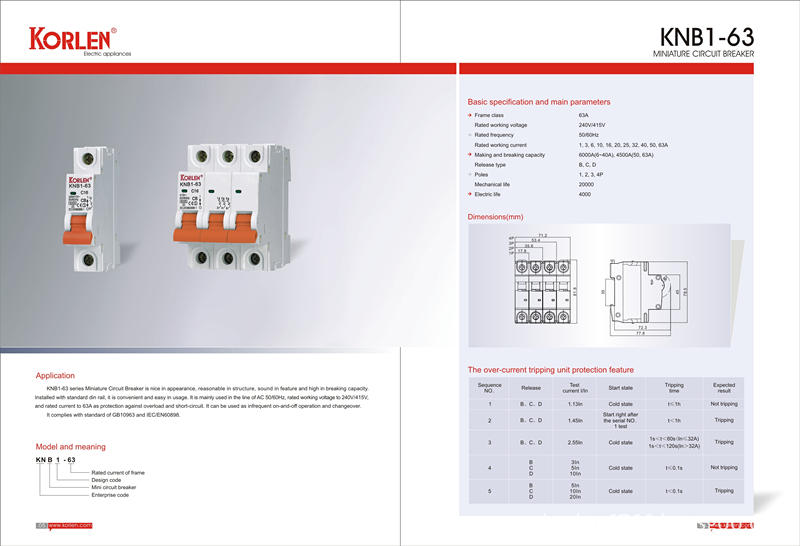 High Quality Mini Circuit Breakers