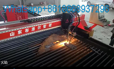 Flame cnc cutting machine