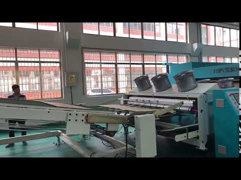 Automatic production line for making Carton Box