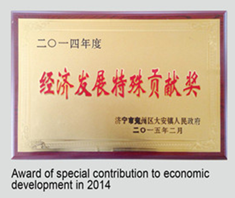 Awards for significant development