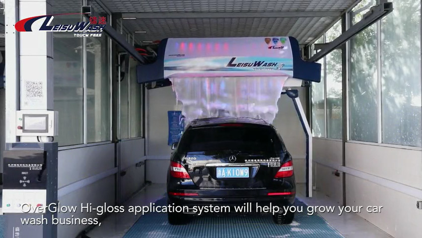 Leisu Wash 360 Enterprise Touchless Car Wash System