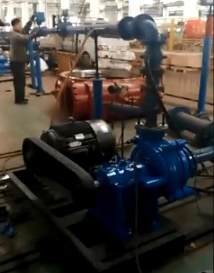 Performance Test for Metal Slurry Pump SH/75D (4/3D-AH)
