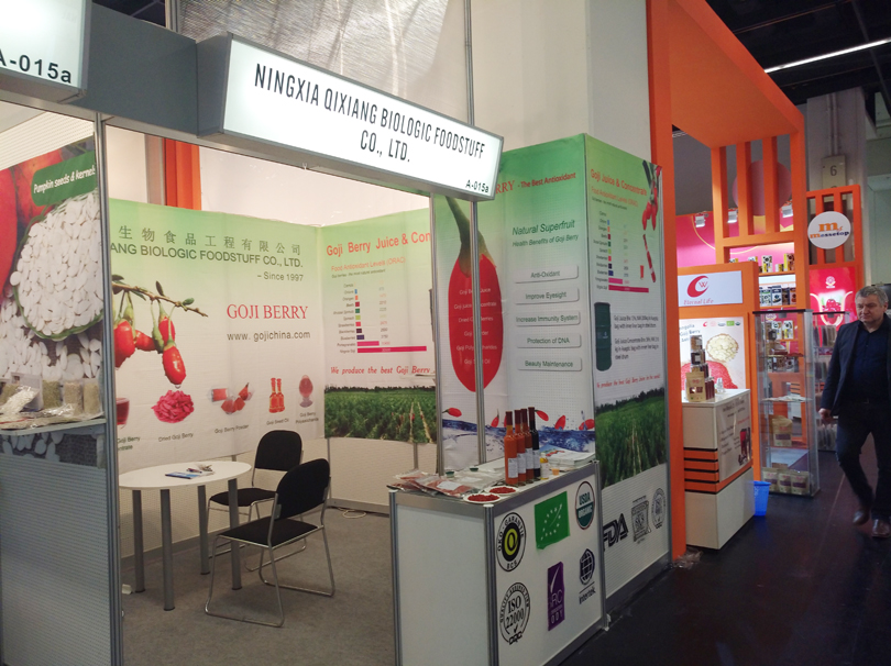 Qixiang company went to Cologne to attend the ANUGA - International Food Exhibition - Organic