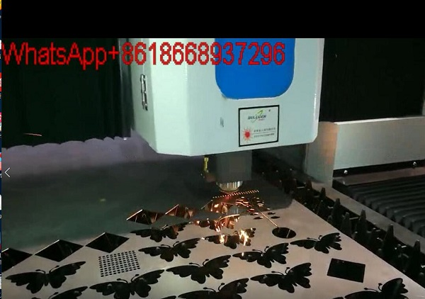 Fiber laser cutting machine cutting Alloy Aluminum Steel