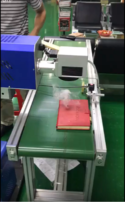 Flying Fiber Laser Makring Machine for Leather