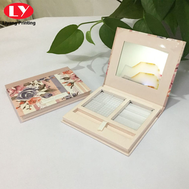 Custom Puff Cake Packaging Paper Luxury Cosmetic Box