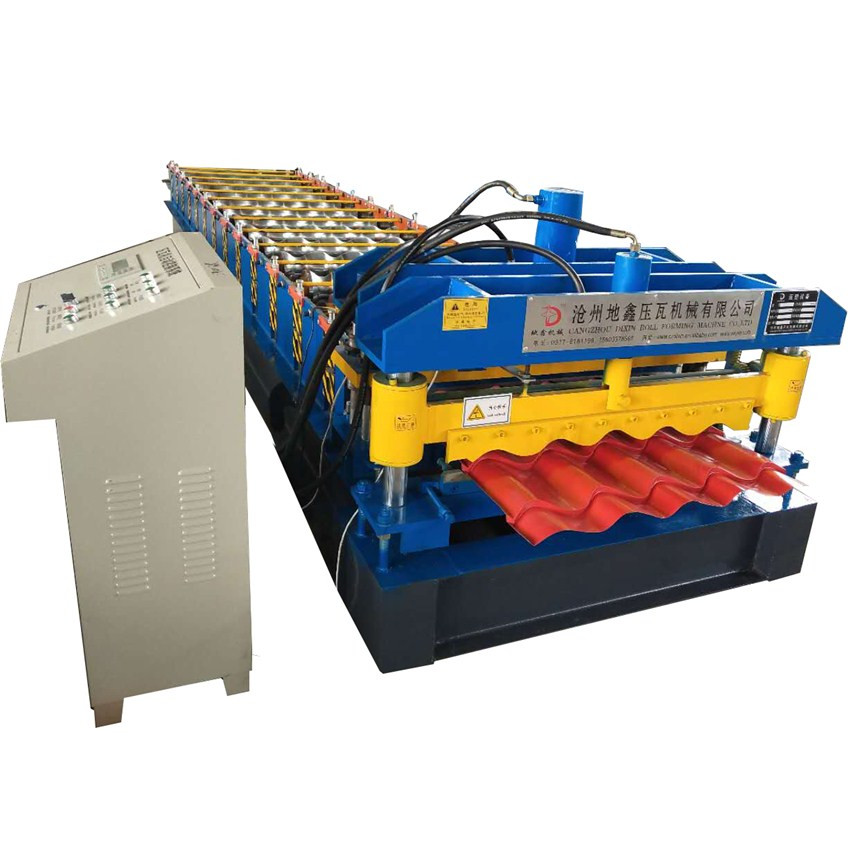 Hot sales Glaze tile metal roof roll forming machine