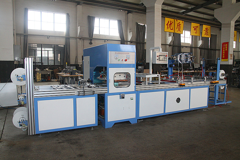PVC bag making machine