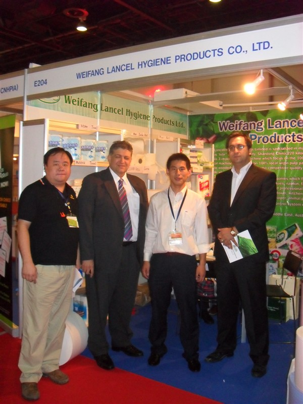 Tissue fair in New York