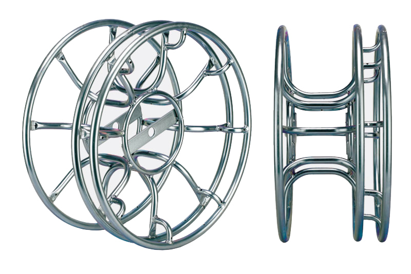 Triple Flange Skeleton Drum With Sheet Metal Hub
