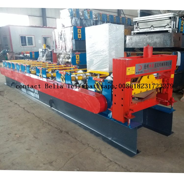 House Roof Ridge Cap Roll Forming Machine Hot Selling