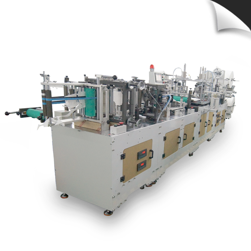 Elastic Folding Mask Making Machine