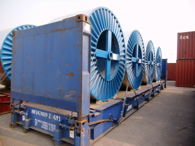 66KV XLPE Insulated Underground Power Cable ready for shipment