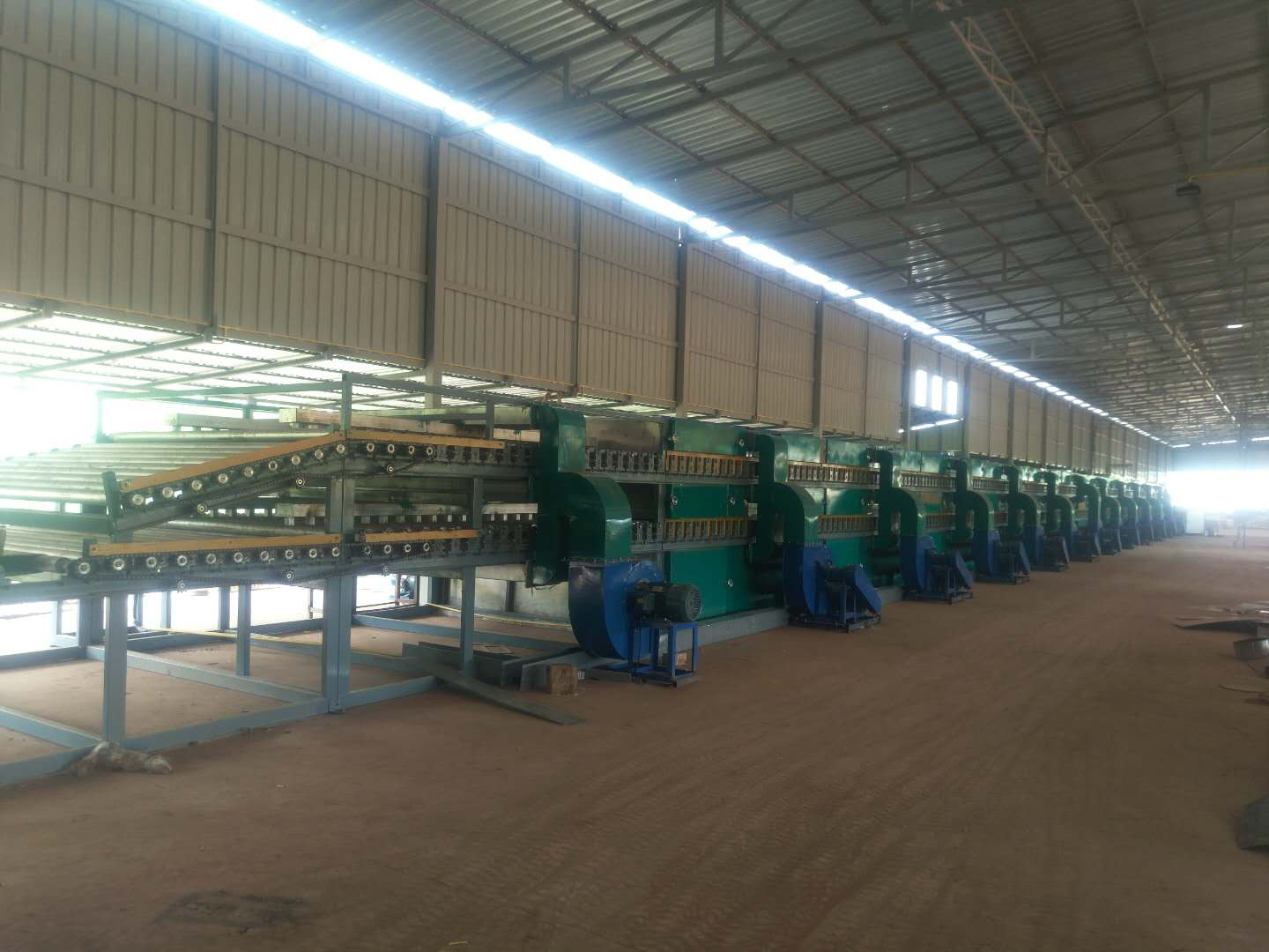 Automatic veneer production line factory