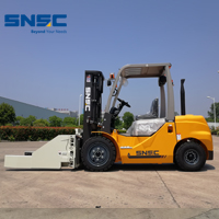 New SNSC Japan engine 3ton forklift with block clamp to Malawi