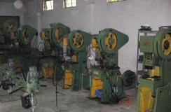 machine for feeder parts