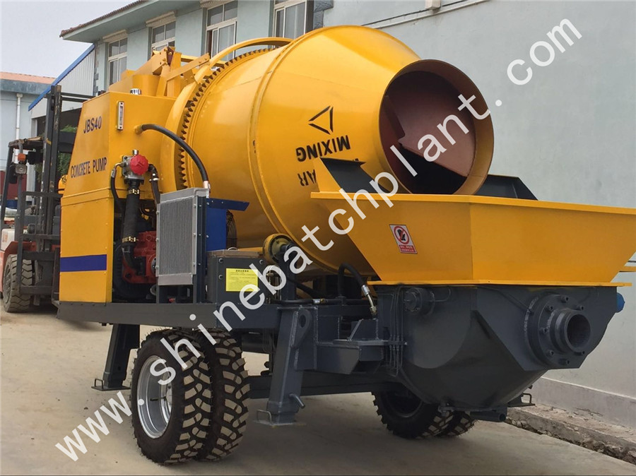 40 Concrete Mixer Pump