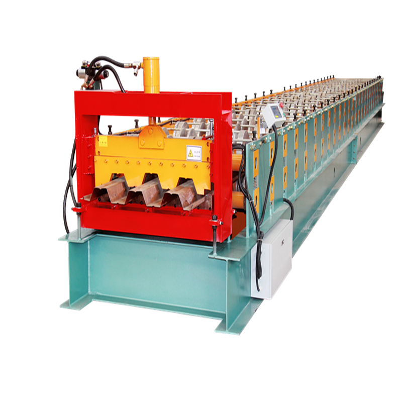 high speed metal floor deck roll forming machine