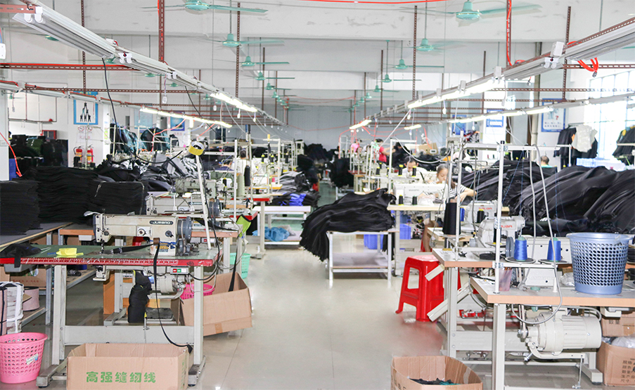 The sewing-Seaskinwetsuit factory