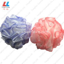 Newly Arrival for Mesh Sponges Bath Ball two color loofah bathroom sponge bath cleaner supply to Armenia Manufacturer