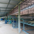 2 Deck Wood Veneer Drying Machine