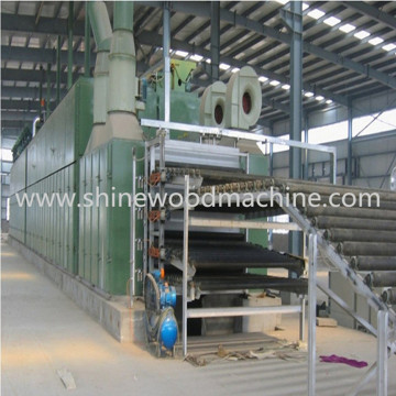 Wood Veneer Dryer Machine of Plywood