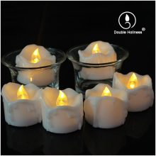 battery operated electric led tealight candle