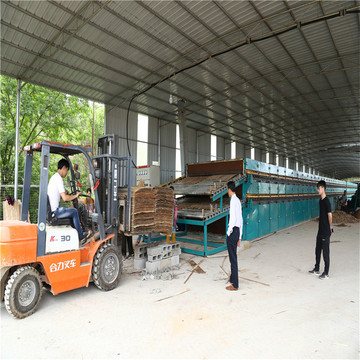 Heat Medium Types Jet Roller Veneer Dryer