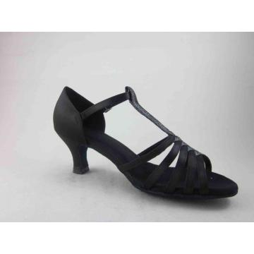 Hot Sale for Ladies Ballroom Shoes Ladies back satin dance shoes uk export to Cayman Islands Supplier