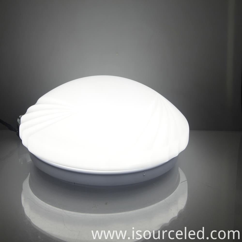 led light on ceiling