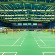 portable badminton court mat pvc flooring