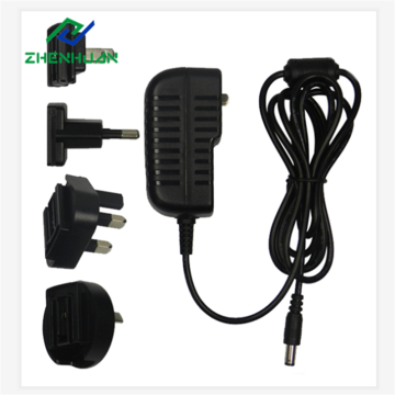 36W 36V 1A Multi-plug internationale voedingsadapter
