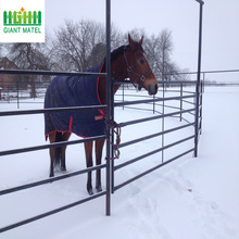 Eco Friendly Metal Frame Material horse fence panel