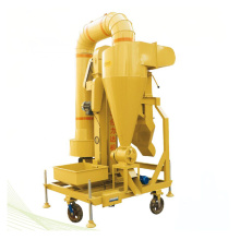 Efficient seeds grains air cleaning machine