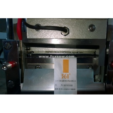 Care Label Cutting Machine