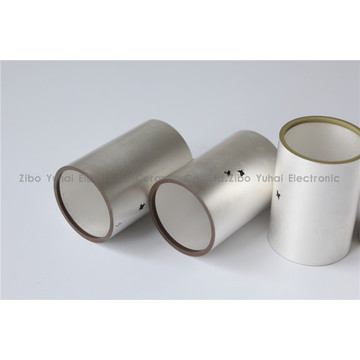 Piezo Cylinders for NDT Ultrasonic Detection OD28xID25x40mm