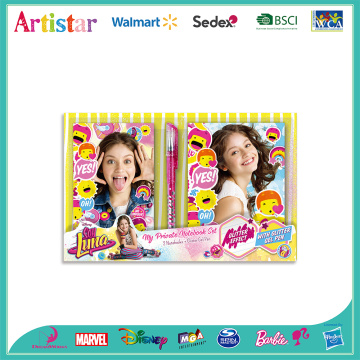 Soy Luna notebook set
