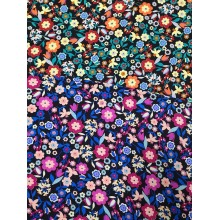China for Rayon Twill Small Flower Rayon Twill 3024S Printing Woven Fabric supply to Thailand Wholesale